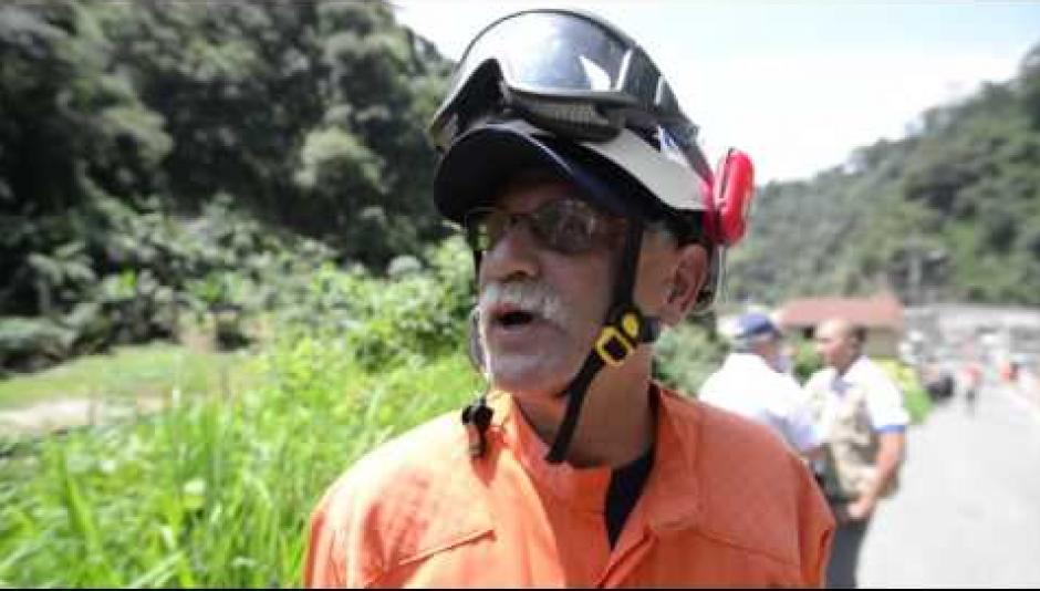 Cabañas fue el oficial a cargo de las labores de rescate en El Cambray II. (Foto: Archivo/Soy502)