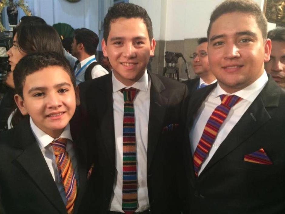 Morales tiene cuatro hijos: Samuel, José, Manuel y Raúl. (Foto: Facebook/Jimmy Morales)