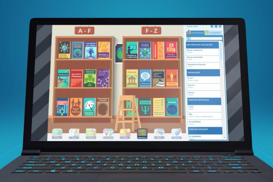 La biblioteca de autodidactas permitirá la formación a distancia de los docentes que busquen métodos novedosos para aplicar en clases. (Foto: Funsepa)