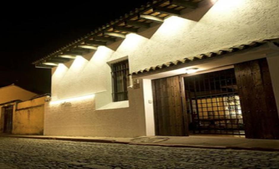 El hotel Mansión de la Luz, propiedad de Inversiones Galú, compañía ligada a Baldetti. (Foto: MP)