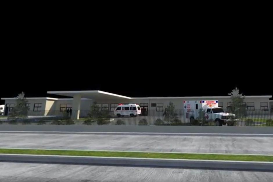 El hospital contaría con cinco ambientes, 48 camas y prestaría los servicios de; cirugía, ginecobstetricia, pediatría y medicina interna. (Foto: Captura de Pantalla)