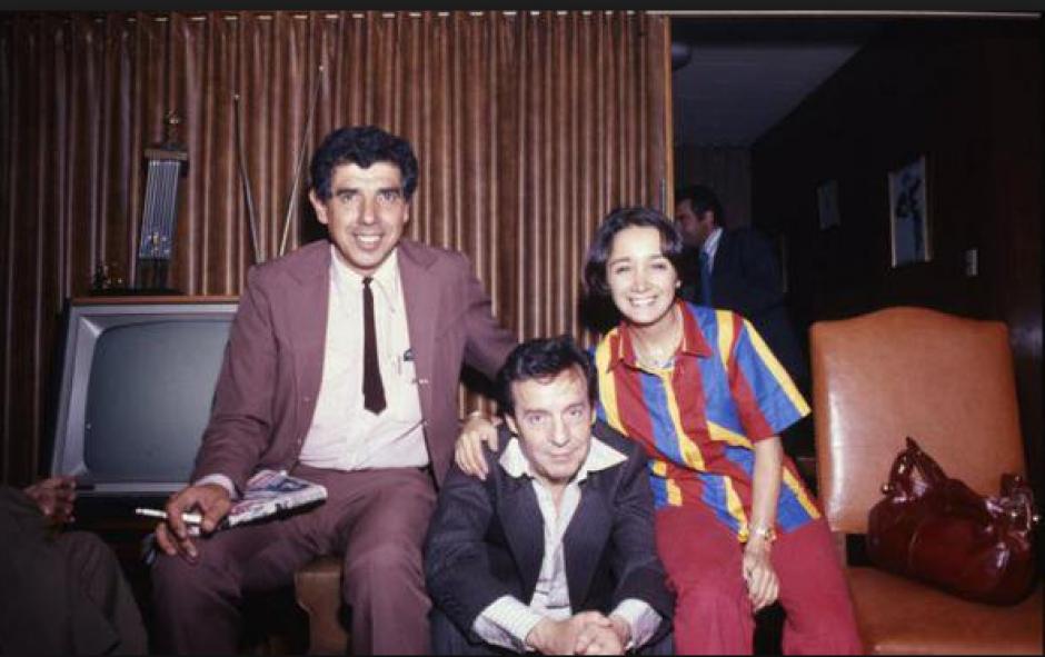 Una de las fotos con Roberto Gómez Bolaños. (Foto: El Universal)