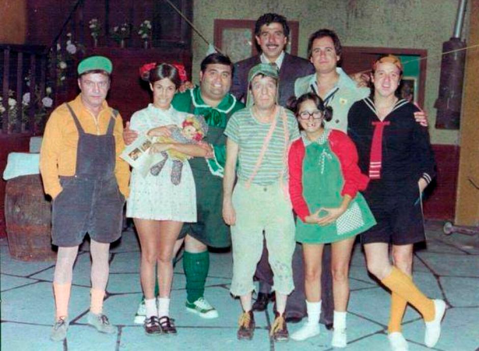 Así eran los personajes del Chavo del 8. (Foto: El Universal)