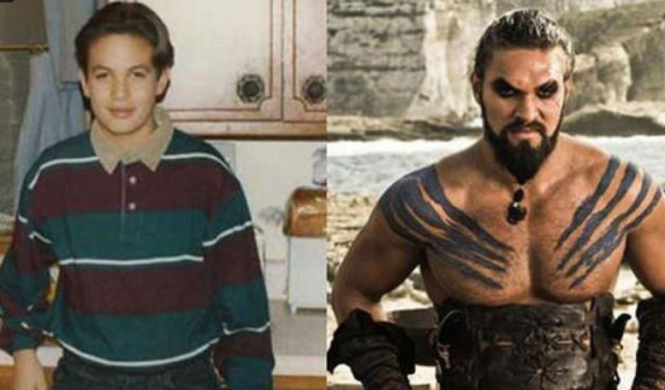 Jason Momoa en su adolescencia, antes de dar vida a Khal Drogo. (Foto: Cien Radios)