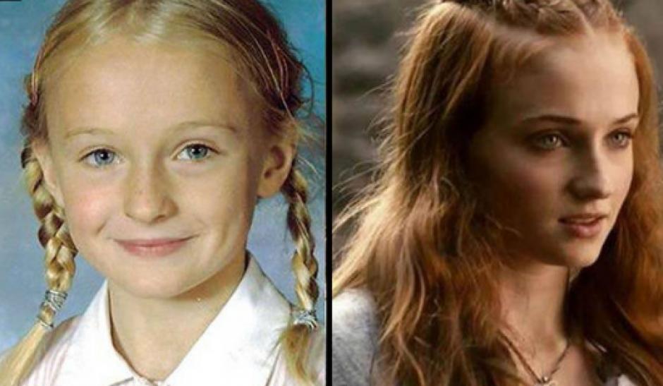Sophie Turner antes de Sansa Stark. (Foto: Cien Radios)