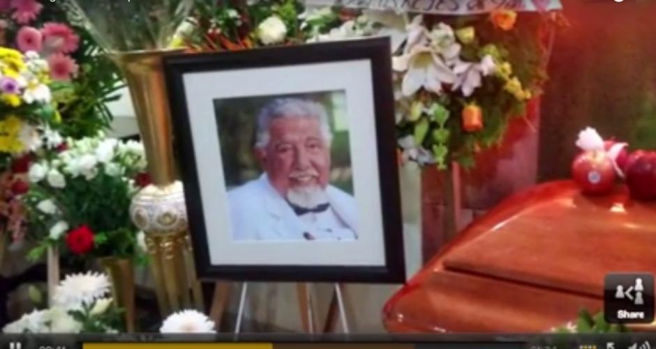 El sepelio de Rubén Aguirre tuvo lugar en Puerto Vallarta. (Imagen: Captura de YouTube)