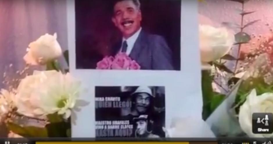 El funeral fue amenizado con música de mariachis. (Imagen: Captura de YouTube)