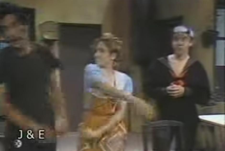 Las cachetadas de Doña Florinda a Don Ramón no hicieron falta. (Imagen: Captura de pantalla)