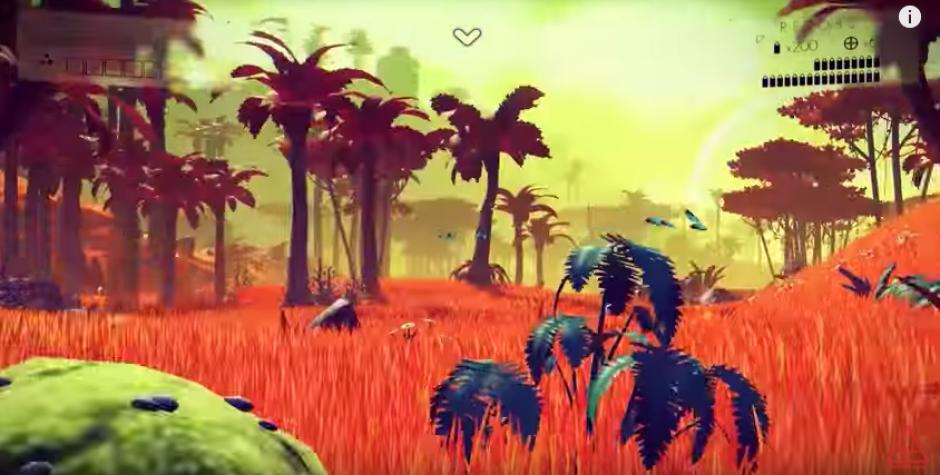 La flora y fauna será única en cada planeta. (Screenshot/YouTube)