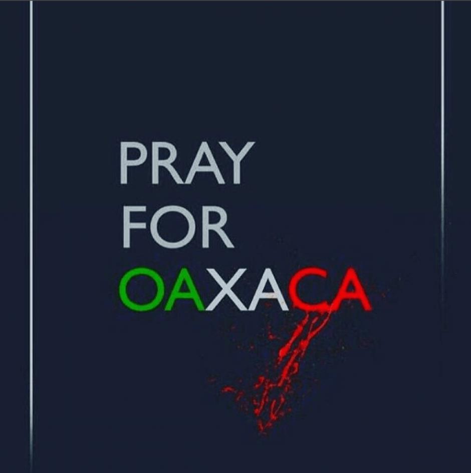 Con esta imagen, la presentadora se solidarizó con las víctimas de Oaxaca. (Foto: jimenasanchezmx/Instagram)