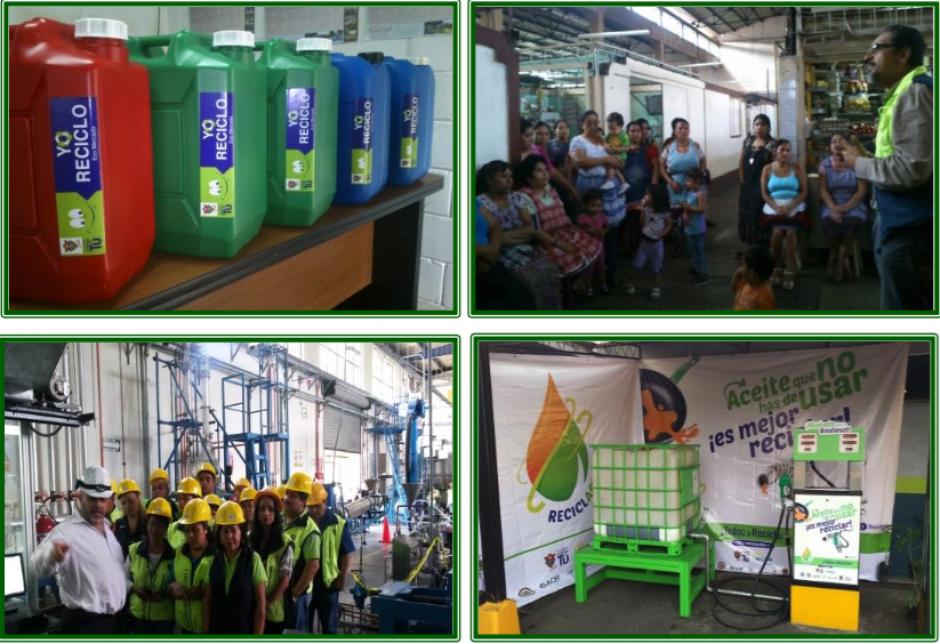 El programa ha sido exitoso y ahora busca tener su propia planta de procesamiento. (Foto: Municipalidad de Guatemala)