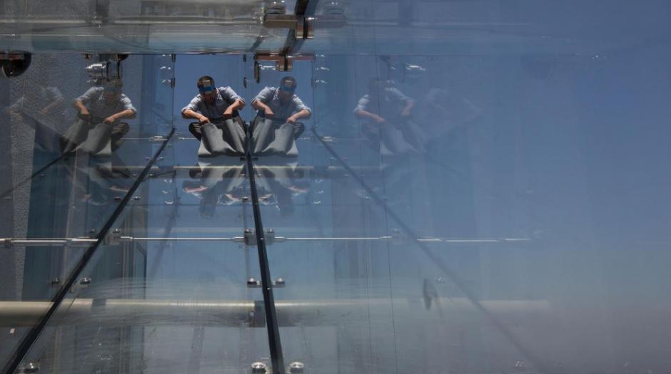 El atractivo es que se encuentra a 300 metros de altura. (Foto: lanacion.com.ar)