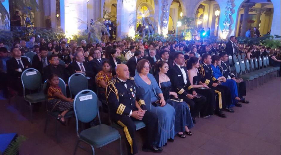 Al evento asistieron solo invitados especiales. (Foto: Gobierno de Guatemala)