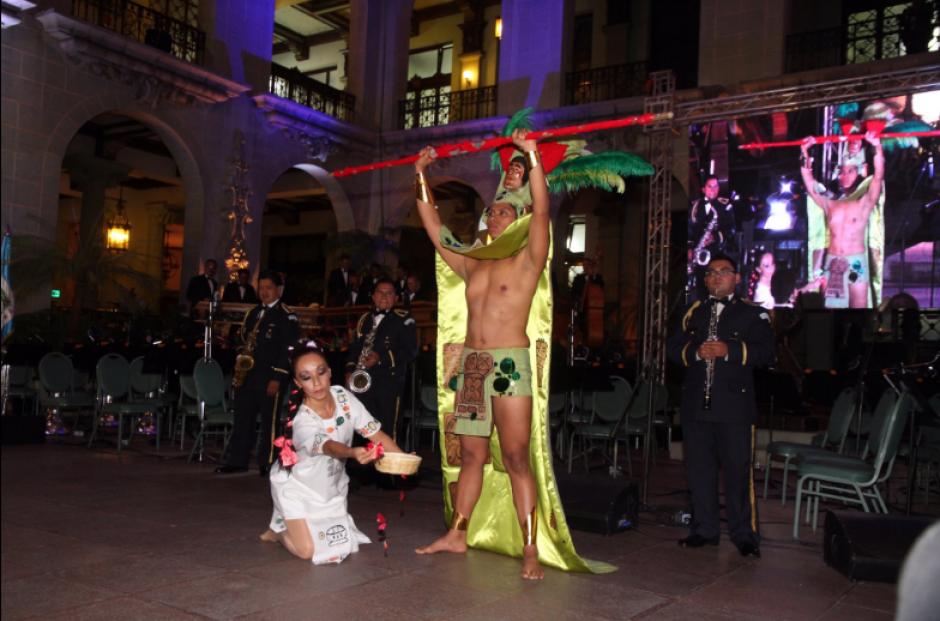 Presentaciones artísticas se hicieron en el evento. (Foto: Gobierno de Guatemala)