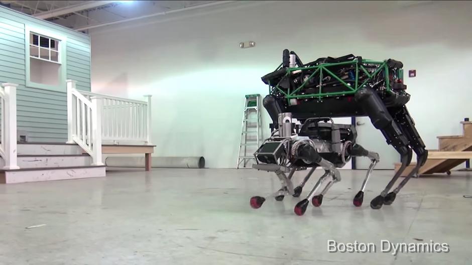 Es el robot más pequeño que a la fecha a presentado la empresa. (Foto: Captura de Pantalla/Youtube)