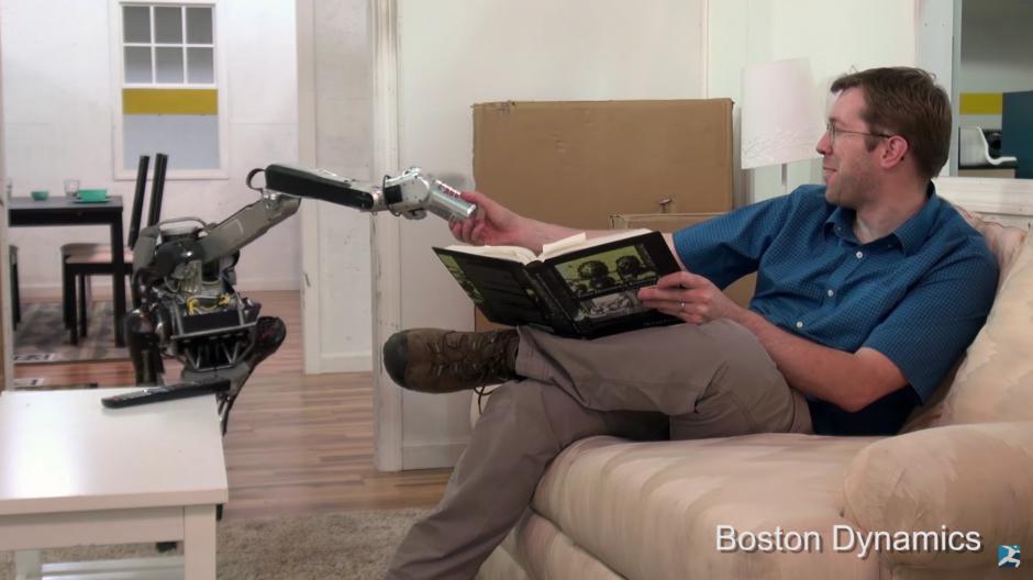 Boston Dynamics presenta por medio de un video su más reciente creación: Mini Spot. (Foto: Captura de Pantalla/Youtube)