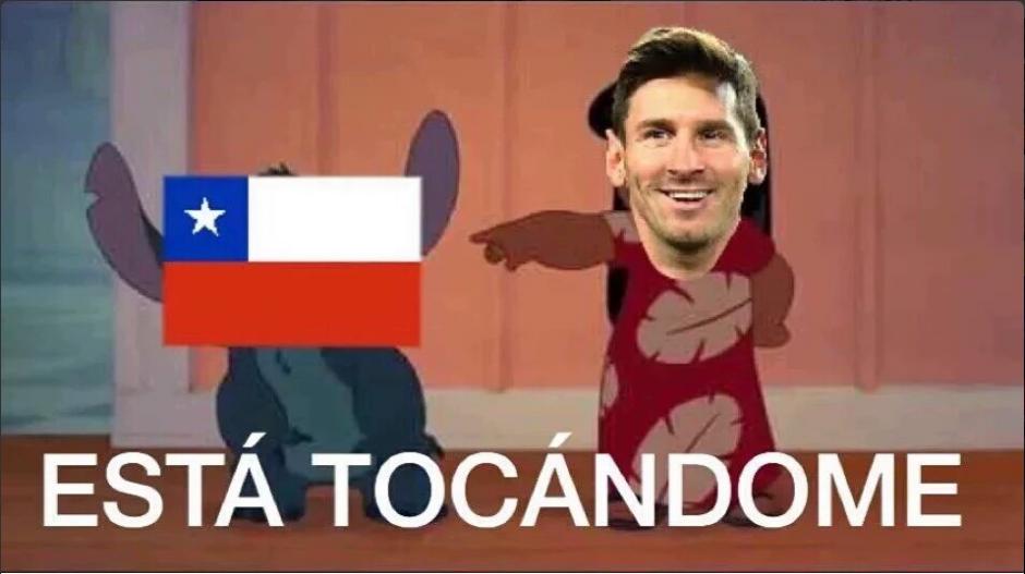 Chile venció nuevamente a Argentina por la vía de los penales a Argentina. (Foto: Twitter)