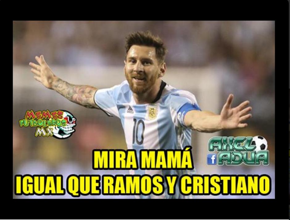 Los internautas no perdonaron que Lionel Messi fallara el tiro penal frente a Chile. (Foto: Twitter)