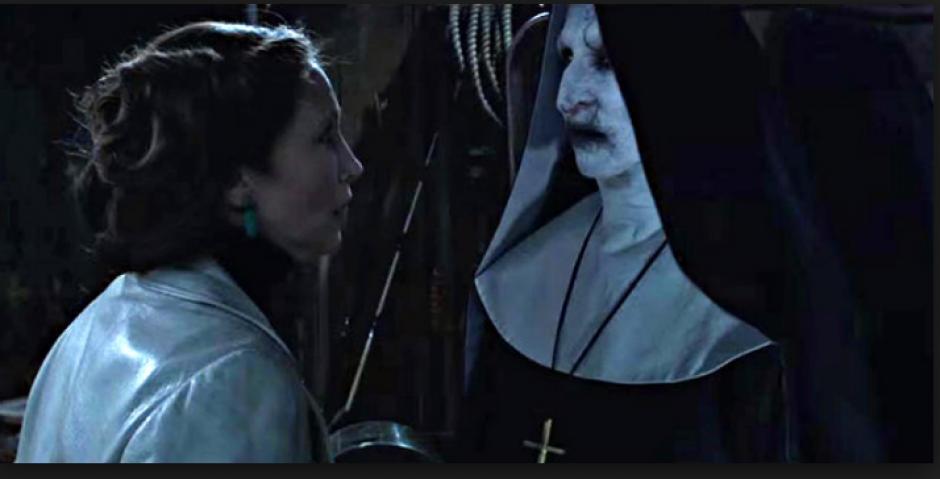 En la película la monja es uno de los personajes más aterradores. (Foto: americatv.com.pe)