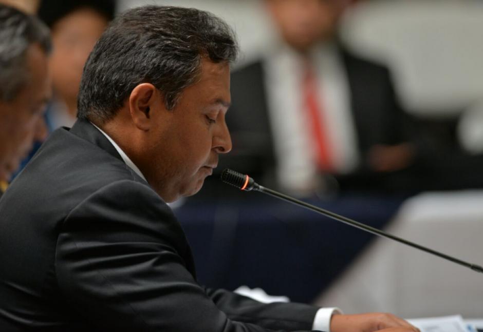 Ludwin Osorio Ovalle fue el último en rendir su primera declaración en la diligencia. (Foto: Wilder López/Soy502)