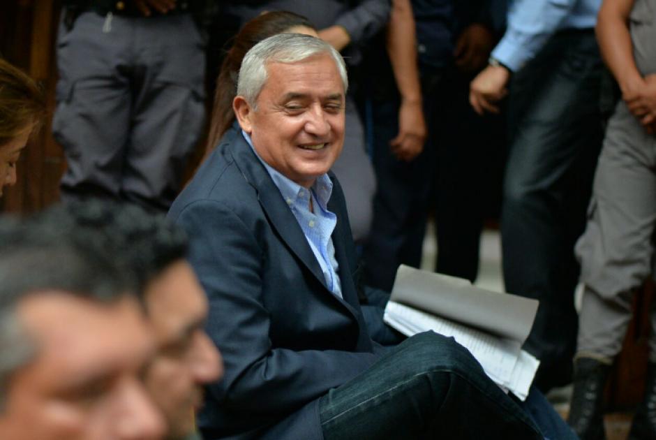 Pérez utilizó su declaración para arremeter contra el titular de la CICIG y contra Juan Carlos Monzón. (Foto: Wilder López/Soy502)
