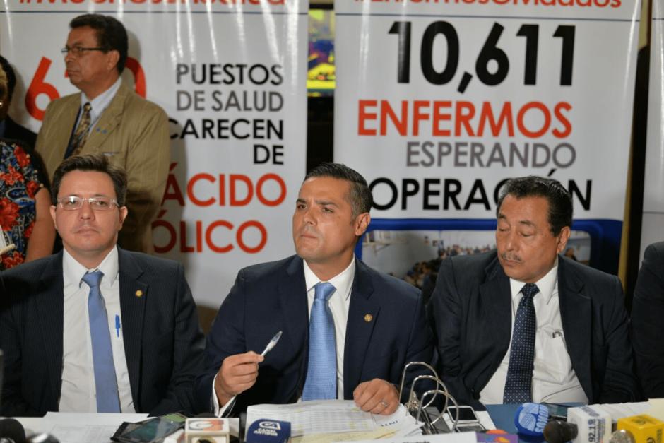 El Presidente de la Comisión de Salud canceló la interpelación al Ministro del ramo. (Foto: Wilder López/Soy502)