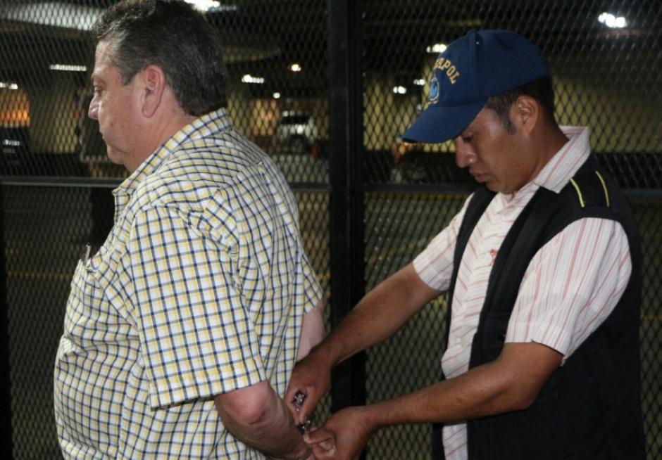 La Interpol de Guatemala lo aprehendió este martes. (Foto: PNC)