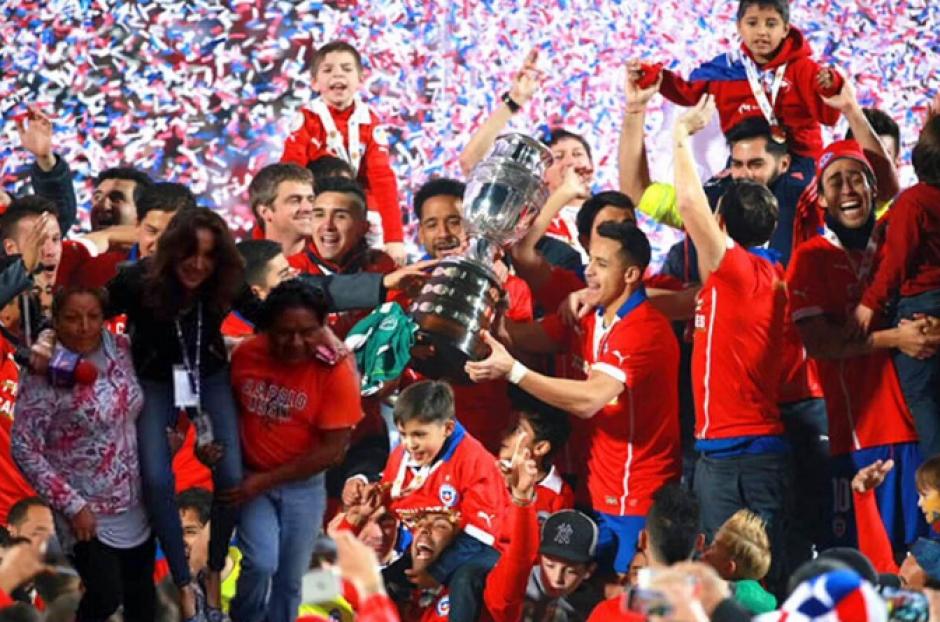 La imagen de la Selección de Chile fue también aprovechada. (Foto: Twitter/@Cinemex)