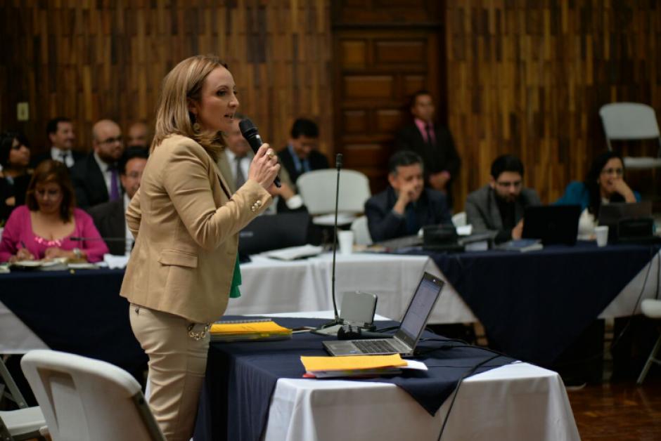 La abogada María de León es la defensora de Jack Irving Cohen. (Foto: Wilder López/Soy502)