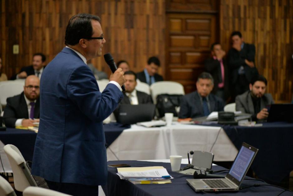 Un total de ocho abogados defensores presentaron sus argumentos este jueves. (Foto: Wilder López/Soy502)