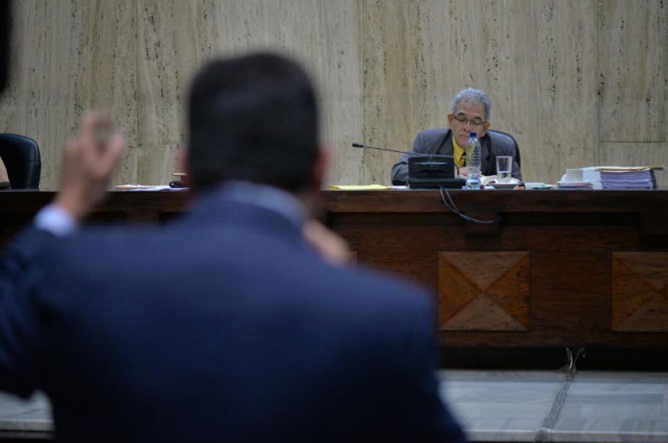 En el décimo segundo día de audiencia por el caso Cooptación del Estado, los abogados ejercieron la defensa de los implicados. (Foto: Wilder López/Soy502)