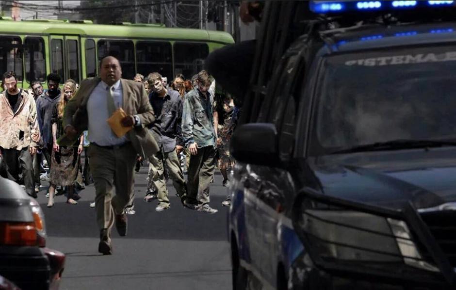 Con imágenes de zombies se burlaron del abogado. (Foto: Facebook/Enio Estrada)