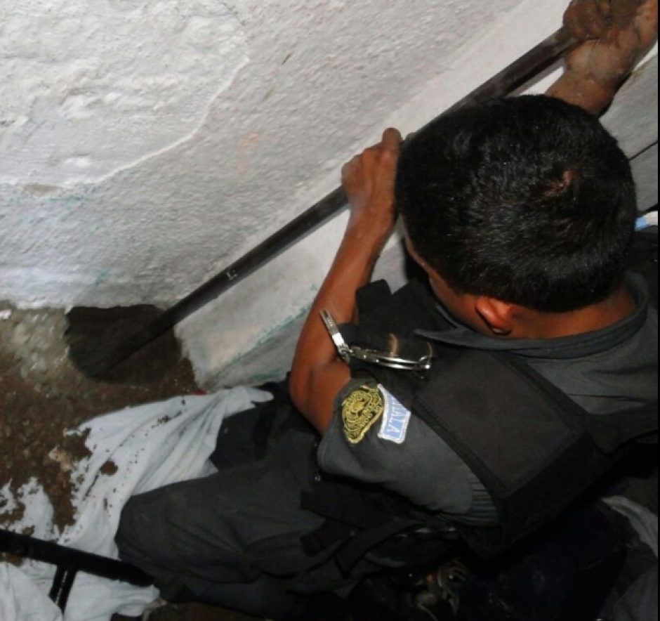 """Los ilícitos fueron localizados en una """"caleta"""" del sector 4. (Foto: DGSP)"""