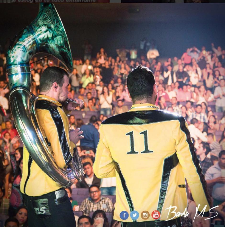"""Uno de los temas más populares actualmente es """"Qué Bendición"""" se encuentra en el Top Ten de los Billboard en la categoría Latin Album. (Foto: Instagram Banda MS)"""