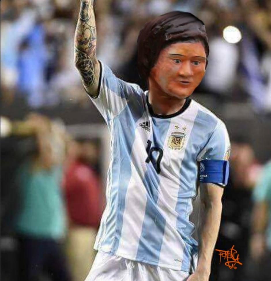 Todos los memes piden a Messi que se quede en la selección, (Foto: Twitter)