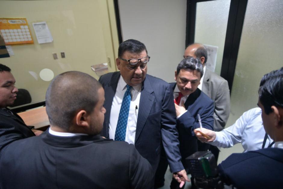 La recusación fue planteada por uno de los abogados de Herrera. (Foto: Wilder López/Soy502)