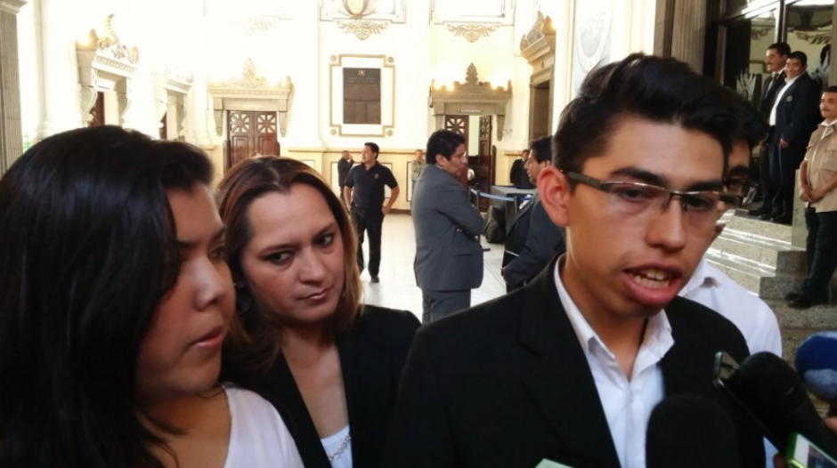 El joven sindicalista dijo desconocer la resolución judicial. (Foto: Archivo/Soy502)