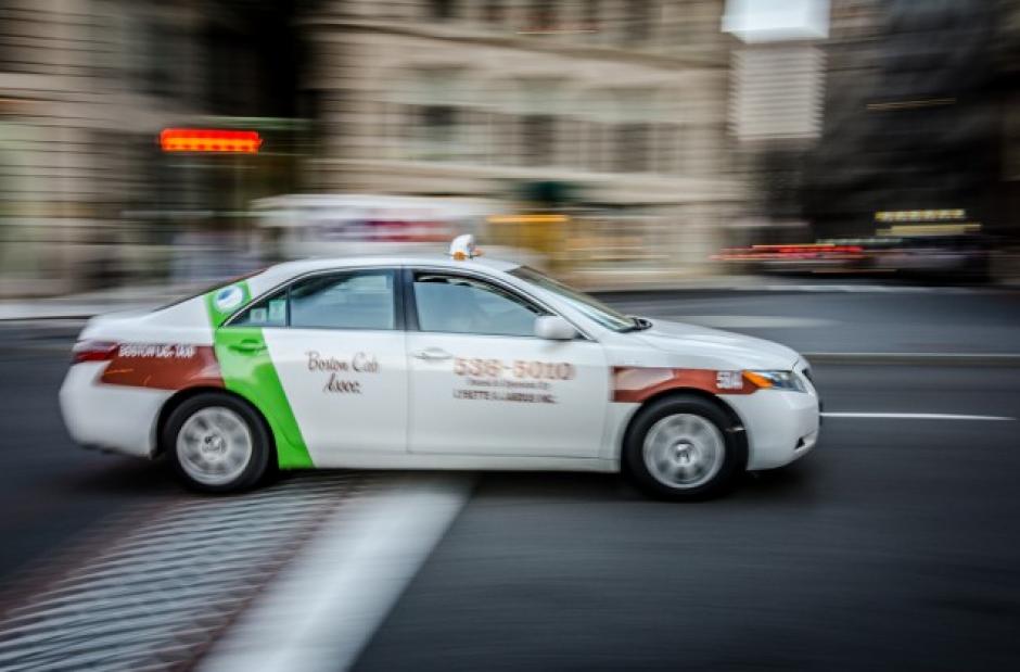 El taxista y su buena fama se hacen virales en la ciudad.  (Imagen con fines ilustrativos.  Foto: bostoncab.us)