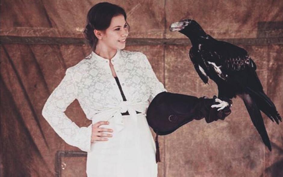 La joven tiene una fascinación por los animales silvestre, como su padre. (Foto: Instagram)