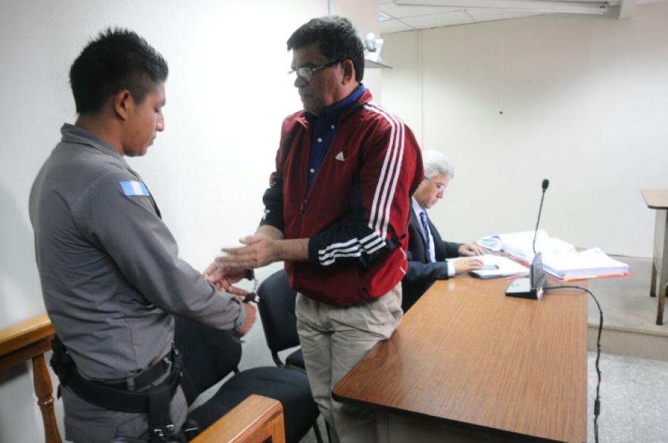 Medrano permanece detenido en Mariscal Zavala por otro proceso judicial. (Foto: Alejandro Balán/Soy502)