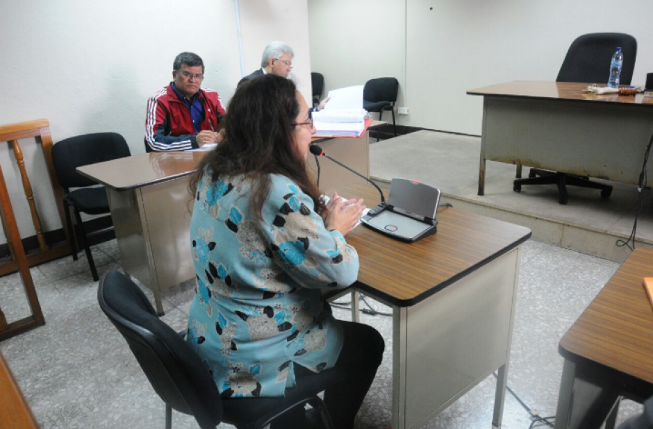 En la primera audiencia se escuchó a cinco peritos que ratificaron los informes de auditoría efectuados a la Comuna. (Foto: Alejandro Balán/Soy502)