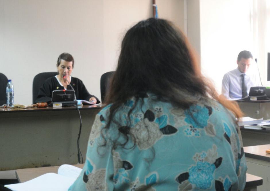 El debate oral y público está a cargo del Tribunal Octavo de Sentencia Penal. (Foto: Alejandro Balán/Soy502)