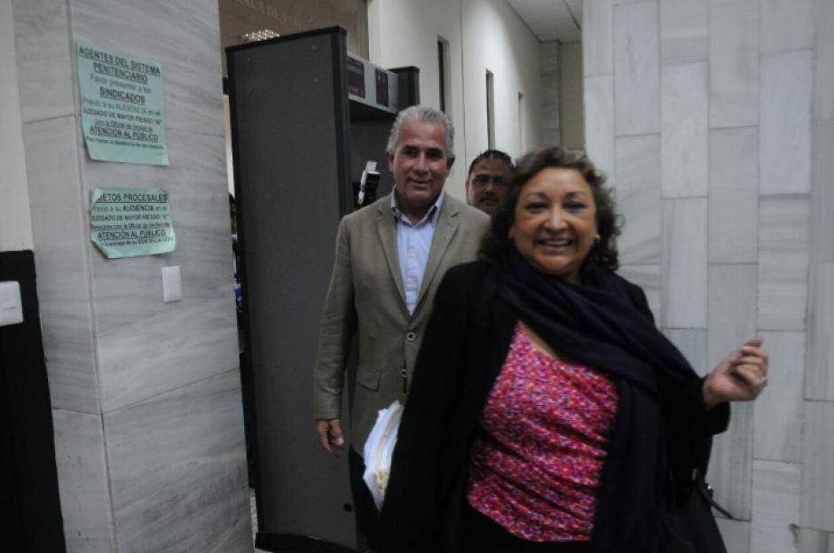 Gándara, al igual que el resto de implicados, goza de libertad condicional. (Foto: Alejandro Balán/Soy502)