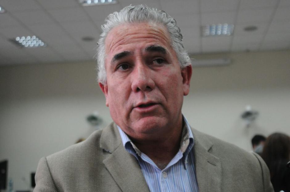 Salvador Gándara asistió a una audiencia por el proceso que se sigue en su contra por un supuesto fraude en la remodelación de la cárcel de Fraijanes. (Foto: Alejandro Balán/Soy502)