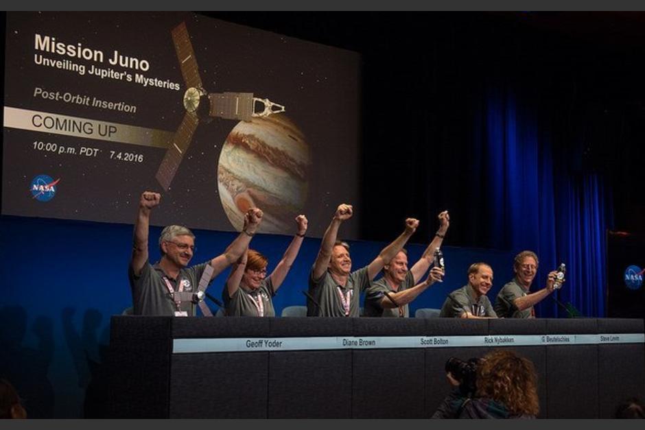 """En la misión de """"Juno"""" hay un guatemalteco. (Foto: article.wn.com)"""