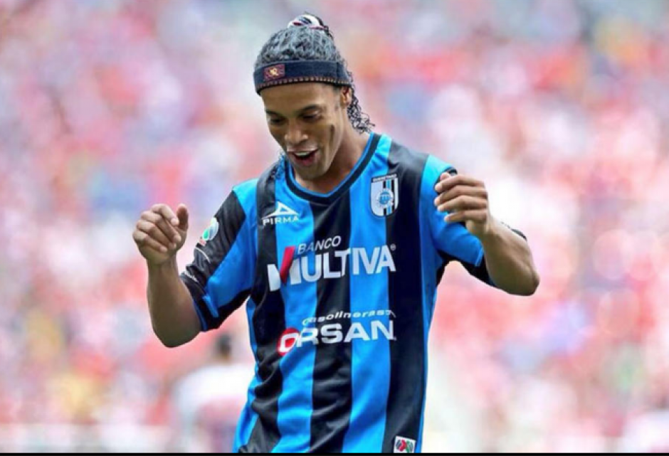 Ronaldinho terminó su carrera profesional en México. (Foto: Archivo/Soy502)