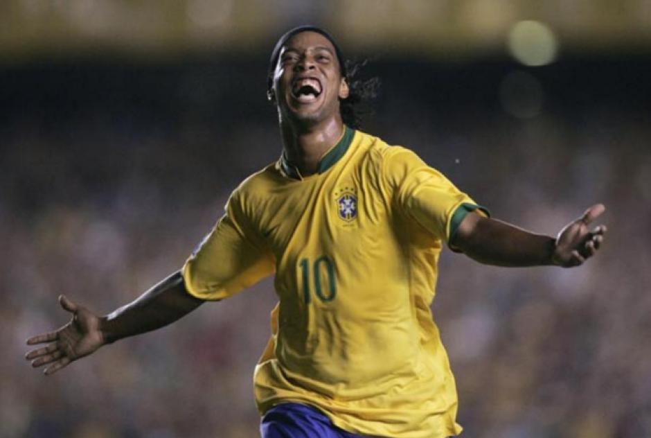 Ronaldinho fue campeón del mundo con Brasil. (Fotos: Archivo/Soy502)