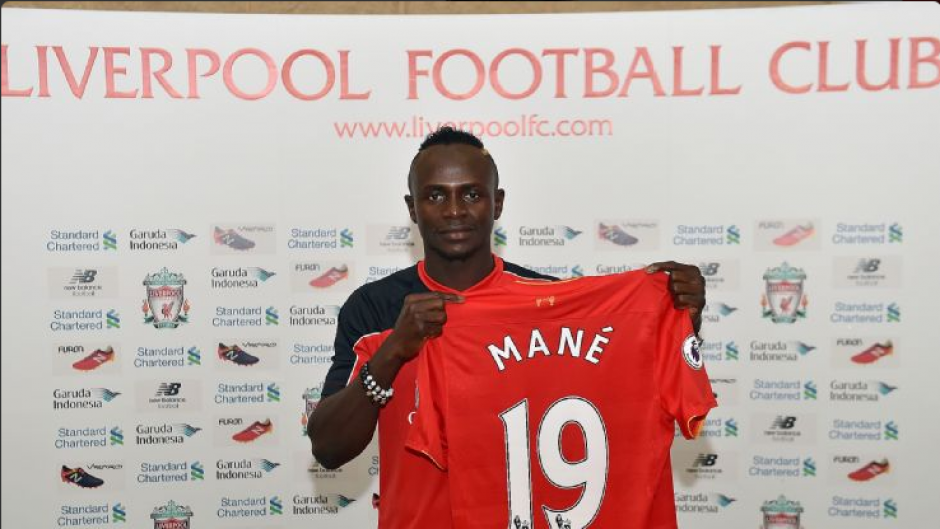 Sadio Mané, del Southampton al Liverpool. (Foto: Twitter/Liverpool)