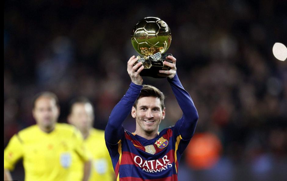 Leo ha ganado cinco Balones de Oro como azulgrana (Foto: Twitter/FCB)