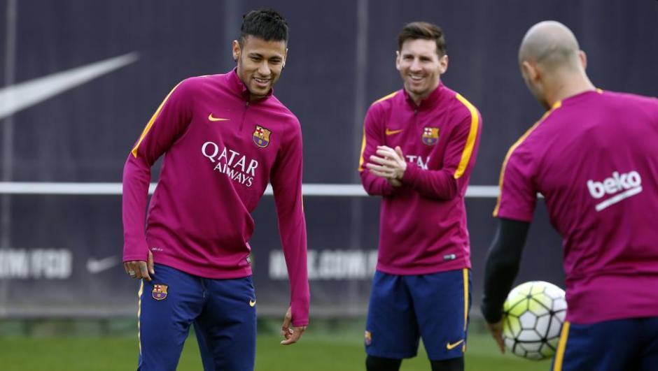 ¿Se separará el argentino de Neymar y Luis Suárez? (Foto: Twitter/FCB)